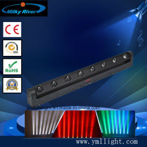 8 Beam Moving Head Light/ LED Moving Bar Light/ 8X10W LED Sweeper Beam Light pictures & photos