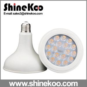 SMD Intrgrative Plastic and Aluminum 18W LED PAR38 Lamp pictures & photos