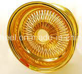 Wire Wheel in All Golden Finish pictures & photos