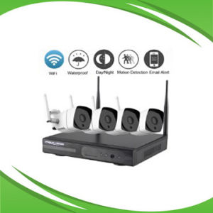 4CH Wireless IP Camera and NVR System pictures & photos
