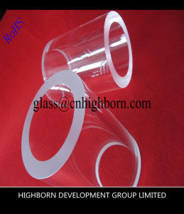 Big Size Thick Clear Quartz Glass Pipe pictures & photos