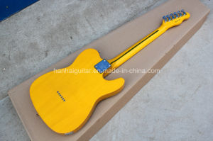 Hanhai Music / Left-Hand Electric Guitar with Ancient Yellow Body pictures & photos