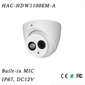 1megapixel 720p Water-Proof IR Hdcvi Dome Camera{Hac-Hdw1100em-a} pictures & photos