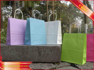 Paper Shopping Bag Gift Promotional Printed Bag pictures & photos
