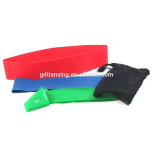 Fitness Yoga Elastic Custom Resistance Band Resistance Exercise Band Loop Latex Resistance Band pictures & photos