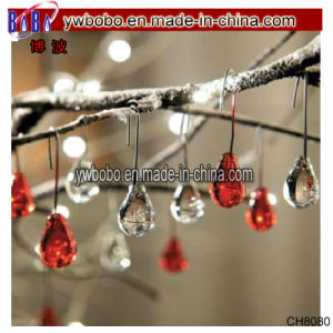 Glass Water Drop Christmas Tree Ornaments Wedding Holiday Decor (CH8080) pictures & photos