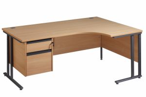 2 Drawers School Teaching Office Furniture MDF Computer Desk (NS-ND114) pictures & photos