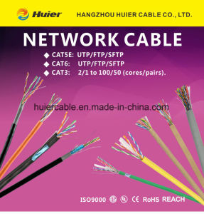 LAN Cable UTP Cat5e with Power Wires for Security pictures & photos