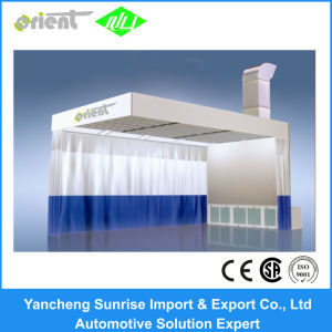 Ce Approved Car Polish Prep Station Spray Booth for Grinding pictures & photos