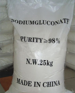 Sodium Gluconate 98% for additive use pictures & photos