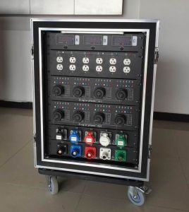 Electrical Power Supply Box with Socapex Connectors pictures & photos