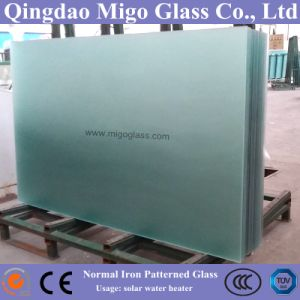 3.2mm Toughened Glass Used for FPC Solar Water Heater Collector pictures & photos