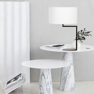 High Quality Elegance Hotel Bedroom Desk Table Lamp Light with Fabric Shade pictures & photos