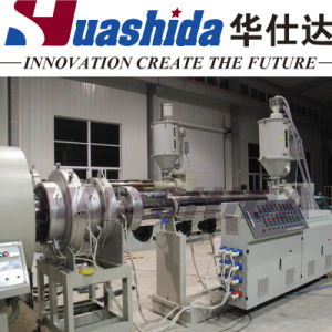 HDPE PU Thermal Insulation Jacket Pipe Extrusion Production Machine Line pictures & photos