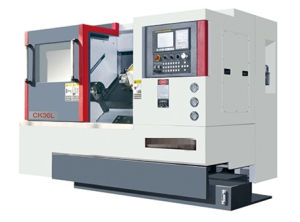 Ck-32L CNC Lathe High Precision Professional CNC Lather (with slanting rail 45°) pictures & photos