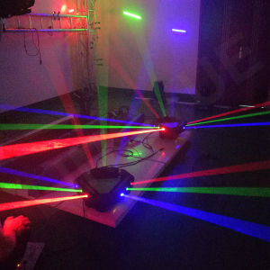New 9 Heads DMX DJ Disco Stage Spider RGB Laser Light pictures & photos
