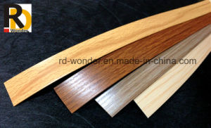 Wood Grain Color PVC Edge Banding Tape for MDF pictures & photos