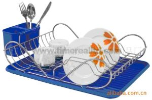 Kitchen Metal Wire Dish Drainer Rack No. Dra05 pictures & photos