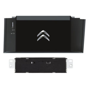DIN DVD Player with GPS Bt Mirror Link for Citroen pictures & photos