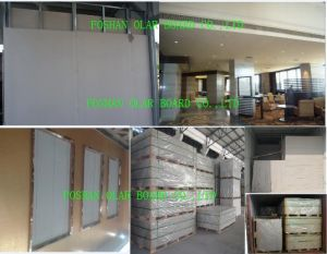 Calcium Silicate Board with 100% Asbestos Free for Ceiling and Wall pictures & photos