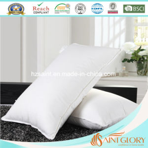 Saint Glory Professional Hotel Goose Feather Down Pillow pictures & photos