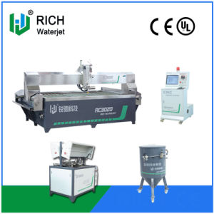 CNC High Speed 5 Axis Water Jet Machine Cutting Ceramic Tile Patten pictures & photos
