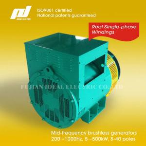 Single-Phase 200Hz~1000Hz Brushless Generators (Alternators) 400Hz pictures & photos