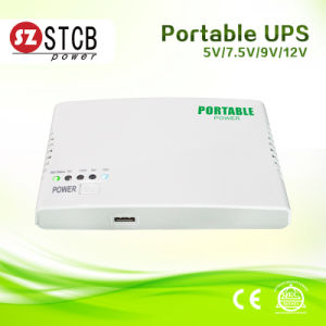 Mini DC UPS with Ajustable 5V-12V Output pictures & photos