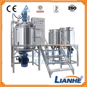 500L Vacuum Emulsifying Emulsifier Mixer for Cosmetic Cream/Ointment pictures & photos