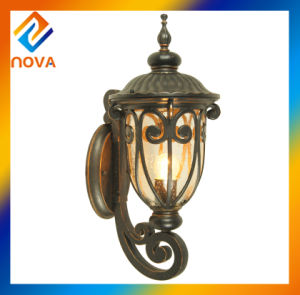 Energy Saving Bronze Color Wall Mount Lamp Shade Garden Light pictures & photos