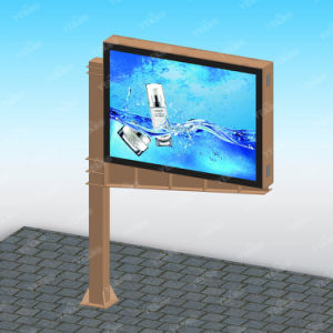 Advertising Furniture Outdoor Double-Side Column Signage pictures & photos