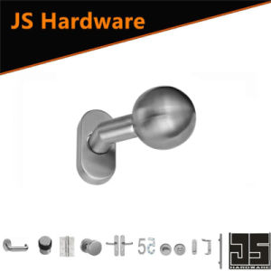 Modern Popular Stainless Steel One Sided Fancy Door Handle Knob pictures & photos