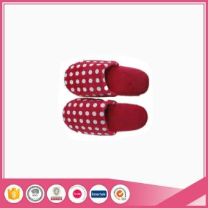Short Plush Lady Winter Footwear Indoor Slipper pictures & photos