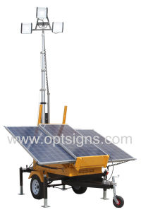 N6001 LED Light Tower, Mobile Light Tower, Solar Light Tower pictures & photos