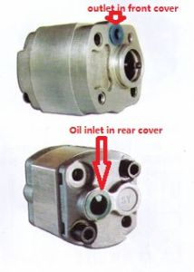 Hydraulic Gear Oil Pump Cbk-F1.0 High Pressure Pump Aluminum Alloy pictures & photos