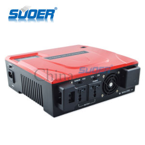 Suoer High Frequency UPS Power Inverter Modified Sine Wave Inverter with Charger (SON-1400VA) pictures & photos