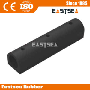 Black Color Rubber Material D-Type Dock Bumper Guard pictures & photos