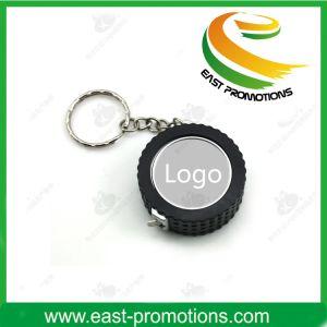 2m Mini Heart Design Retractable Tape Measure Keychain Promotional pictures & photos