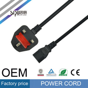 Sipu Hot Sell Stranded Copper UK Power Cord for PC