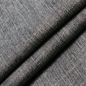 Black Viscose Cotton Polyester Spandex Fabric for Jeans pictures & photos