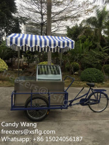 Italian Gelato Carts / Ice Cream Bike / Gelato Bicycle / Gelatin Tricycle Freezers (CE approved) pictures & photos
