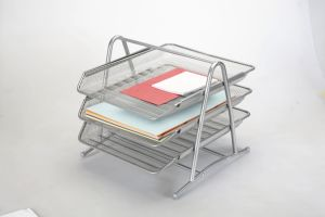 Office Desk Trays/ Metal Mesh Stationery File Tray/ Office Desk Accessories pictures & photos