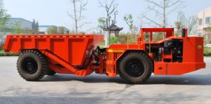 Underground Dump Truck with Dana Transmission Converter Axle Deutz Engine pictures & photos