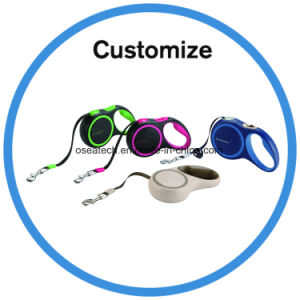 Custom Retractable Dog Collar and Leash pictures & photos