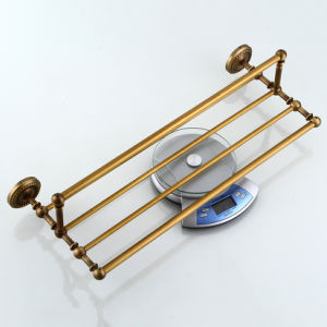 Flg Antique Brass Bathroom Bath Towel Rack Bathroom Set pictures & photos