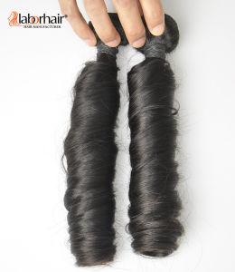 Unprocessed Labor Hair Extension 105g (+/-2g) /Bundle Natural Brazilian Virgin Hair Spring Curl 100% Human Hair Weaves Grade 8A pictures & photos