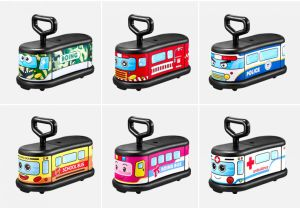 Hot Selling Kids Ride on Toy Car Four Universal Wheels Swing Car pictures & photos