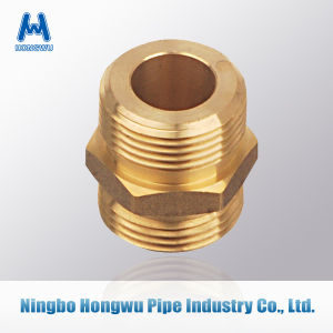 Straight Coupler Brass Nipple Pipe Fitting