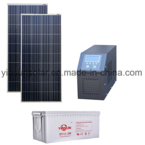 Factory Direct Sale a Set of off-Grid 500W PV System pictures & photos