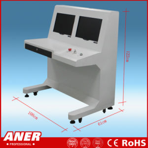 Cost Effective 100100 X-ray Baggage Scanner with High Sensitive 19inch LCD Display China Manufacturer Fight Crimes pictures & photos